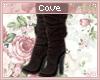 C| Dark Choc Boots