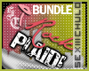 [iRock Plaid BUNDLE}Pink