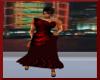 ~Red Long Formal Dress~