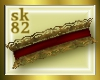 {sk82} Red & Gold Collar