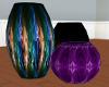Smokey Vases.