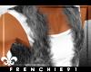f. Fur Vest Grey {M}
