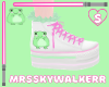 Toadly Cute Frog Shoes