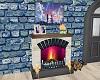 Dreamcrat fireplace