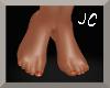 ~Realistic Feet (Orange)
