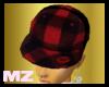 ~Mz~red Lumberjack hat