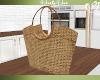 Farmers Market Straw bag