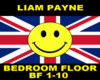 Liam Payne Bedroom floor