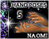 Fingernail Hand Poses