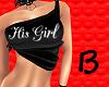 (B) His Girl