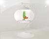 White Animated Fish Bowl