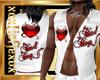 [L] BADBOY White Vest M