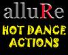 allure hot dance actions
