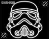 Neon StormTrooper Helmet
