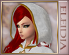 White Celtic Cutie Hood