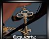 Steampunk Key Earings