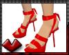 (V) Blazin Red Heels
