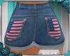 e Kids 4th July Shorts