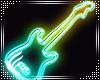 Neon Wall Guitar