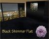 Black Shimmer Flat
