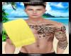Yellow Towel-Men Flipped
