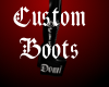 Crazy's Custom boot's