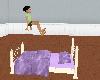(e) purplelised jump bed