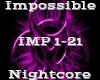 Impossible -Nightcore-