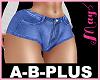 A-B-PLUS Short Jeans 21