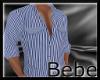 Blue Pin Stripe Shirt