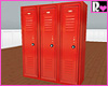 RLove Gym Lockers Red