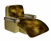 Poseless Gold Chair