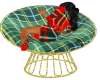 scots chair with poses