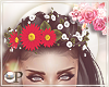 Floral Crown Red