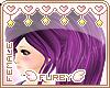 <3 Plum Pudding Ponytail