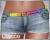 C LGTB shorts