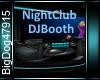 [BD]NightClubDJBooth