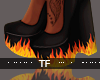 $ Flame On Heels