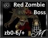 Red Zombie Boss Light
