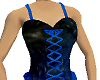 Black and Blue Corset