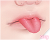 ♡ lil tongue
