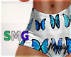 M| SMG Butterfly Shorts