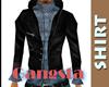Gangsta Top Navy Blue