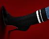 ( heels + socks )