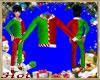 ~H~Kid Santa Elf Top