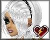 S white/blk mandy hair
