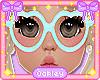 Kid's Beary Blue Glasses