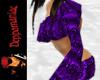 Sharona Top/Shorts PRPL