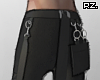 rz. Black Pants + Belts
