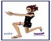 clbc bunny garter purple